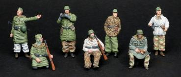 GEBO72014 Deutsche Panzerreiter Winter 1944-1945 Set 1